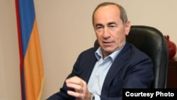 Former Armenian President Robert Kocharian
