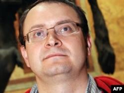 Бывший кандидат в президенты Белоруссии Алесь Михалевич