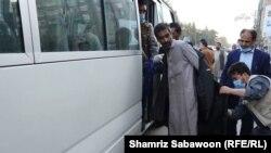 آرشیف، کمپاین جمع آوری معتادان مواد مخدر در شهر کابل