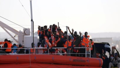 Izbegli i migranti na brodu Lifeline