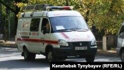 Машина службы спасения. Иллюстративное фото.