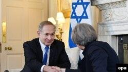 Britanska premijerka Theresa May i izraelski premijer Benjamin Netanyahu u Londonu 6. februara 2017.