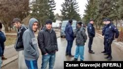 Izbjeglice iz centra u Obrenovcu u blizini Beograda, u februaru 2017.
