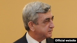 Ерменскиот претседател Серж Саркасјан