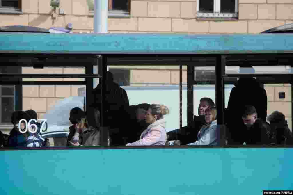 Трамваі ў Менску і Празе