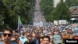 Протестът в Хабаровск на 18 юли 2020 г.