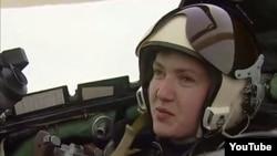 Pilotja ukrainase Nadiya Savchenko