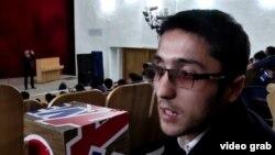 Амир Мӯсавӣ. Акс аз навори «Новый регион»