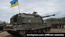 Самохідна артилерійська установка на заняттях із нарощування можливостей ракетних військ і артилерії ЗСУ