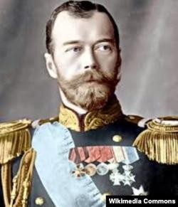 Парадны партрэт Мікалая ІІ