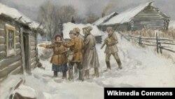 Іван Уладзіміраў, «У пошуках уцекача-кулака» (1920).