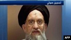 """""""Әл-Қаида"""" басшысы Айман әл-Зауахири (Видеодан алынған скриншот)."""