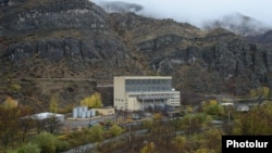 Armenia - A hydroelectric plant on the Vorotan river, 11Nov2013.