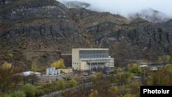 Armenia - A hydroelectric plant on the Vorotan river, 11Nov2013.