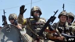 Ілюстраційне фото. Українські військові в зоні АТО