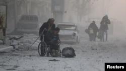 در جریان جنگ داخلی سوریه در شش سال گذشته، صدها هزار نفر کشته و میلیونها نفر آواره شدند.