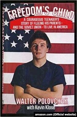 Книга Володимира Половчака «Дитя свободи» (фото з сайту Amazon)