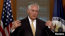 U.S. Secretary of State Rex Tillerson (file photo)