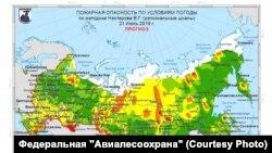 """Прогнозы """"Авиалесоохраны"""" на ближайшие сутки не внушают оптимизма сибирякам"""