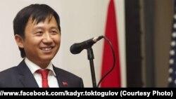 Посол КР в США и Канаде Кадыр Токтогулов.