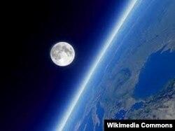 """Фото из американского рекламного проспекта, в котором предлагается """"путешествие на Луну"""""""