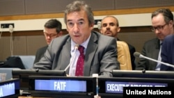 Santiago Otamendi, president of the Financial Action Task Force (FATF)