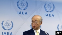 IAEA Director-General Yukiya Amano (file photo)
