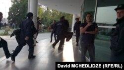 პოლიციის შემადგენლობის მობილიზაცია გარდაბანში არჩევნების დღეს