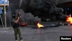 Լիբանան - Գրոհայինը Սիդոնի փողոցներում, 23-ը հունիսի, 2013թ.