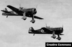 Финские самолеты Fokker D.XXI во время Второй мировой войны