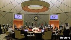 جلسه وزیران خارجه کشورهای شورای همکاری خلیج فارس در ریاض