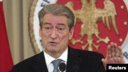 Kryeministri i Shqipërisë, Sali Berisha.
