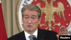 Kryeministri i Shqipërisë Sali Berisha