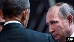 Bez kontramjera zbog protjerivanja 35 ruskih diplomata iz SAD: Barack Obama i Vladimir Putin
