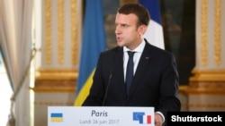 Францин президент Макрон Эммануэль