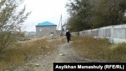 Сирияға кеткен ағайынды Сәрсенбектердің анасы. Жезқазған, 24 қазан 2013 жыл.