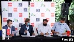 Lideri Socijaldemokratske partije BiH (SDP), Naroda i pravde, Naše stranke i Nezavisne BiH liste, potpisali su koalicioni sporazum za zajednički nastup na lokalnim izborima