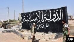 Сирияның солтүстігіндегі Маскана қаласын исламшыл содырлардан аза еткен үкіметшіл күштер жасақтары. 5 маусым 2017 жыл (Көрнекі сурет).