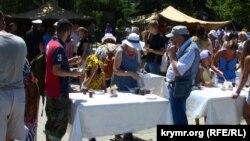 Польова кухня на площі Нахімова у Севастополі