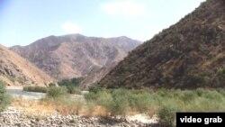 Рамитское ущелье в Таджикистане