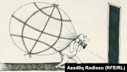 Dünya malı (Rəşid Şerifin karikaturası)