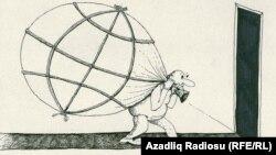 Dünya malı. Karikatura