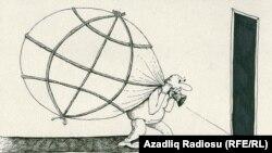Azerbaijan -- Rashid Sherif's cartoon (world property)