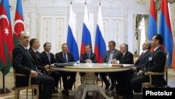 Եռակողմ հանդիպում Կազանում ղարաբաղյան հակամարտության կարգավորման շուրջ, 24 հունիսի, 2011