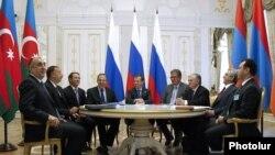 Prezidentlərin Kazan görüşü