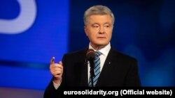 Украинанинг собиқ президенти Петро Порошенко.