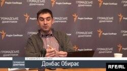 Ведучий інформаційного марафону «Донбас обирає» Дмитро Шурхало