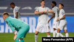"""Дастаи """"Бавария"""" дар чаҳорякфинал ба дарвозаи """"Барселона"""" ҳашт тӯб зад."""