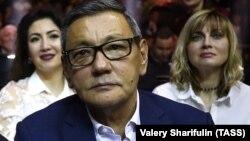 Гафур Рахимов на Международном боксерском форуме в российском городе Сочи, 3 февраля 2018 года.