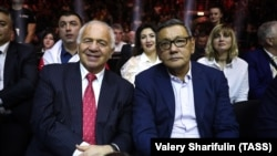 Gafur Rakhimov (right) has been removed from Uzbekistan's most-wanted list.